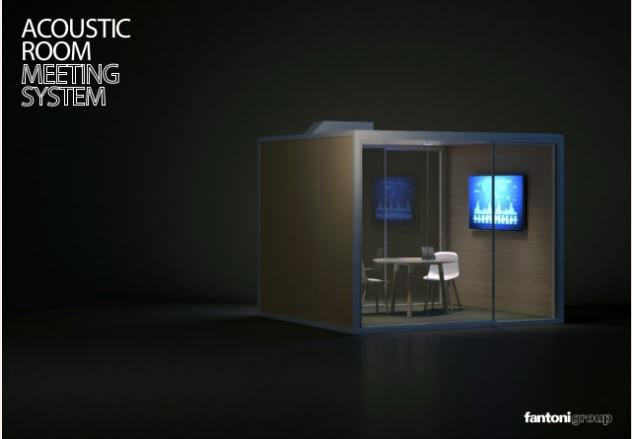 Acoustic Room de Fantoni